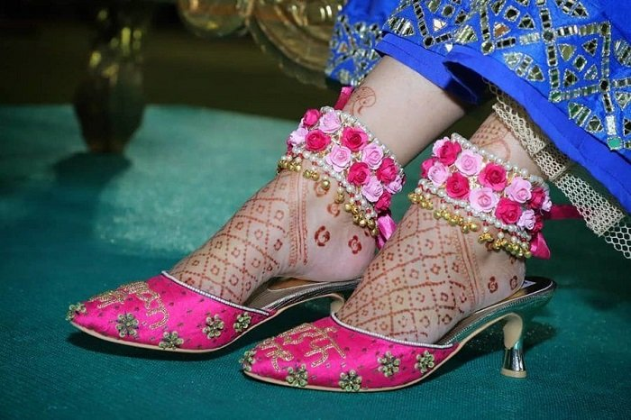 floral design of payal