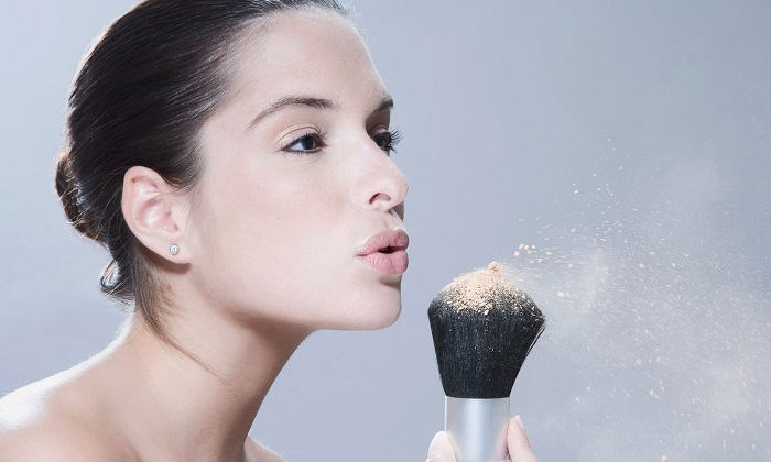 use powder for make up