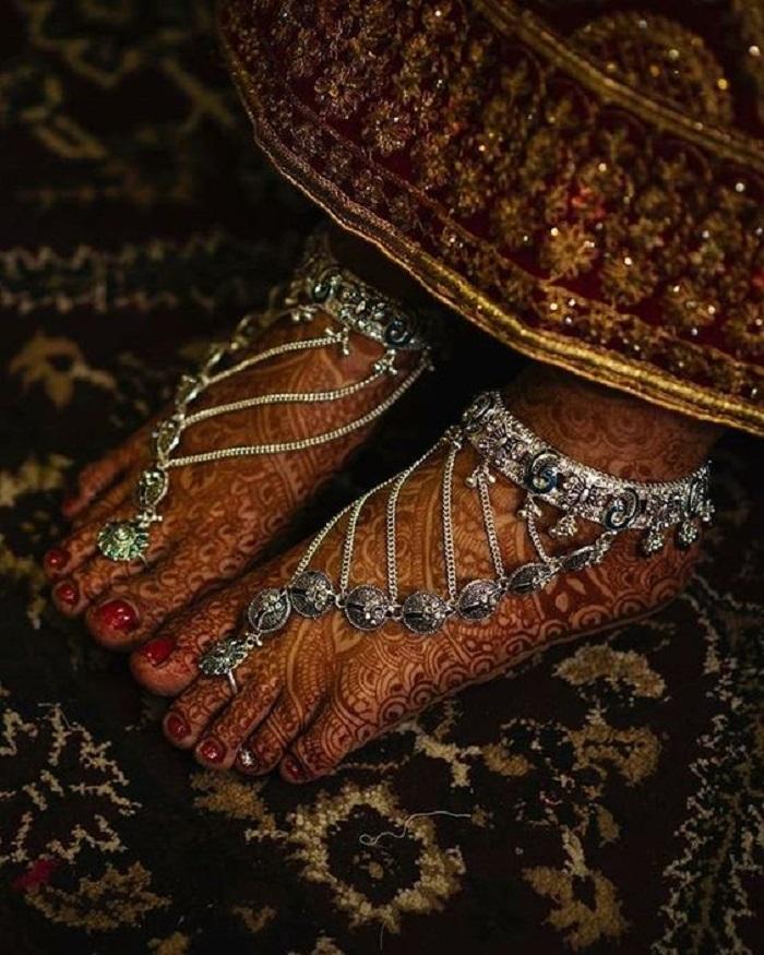 toe ring anklet designs