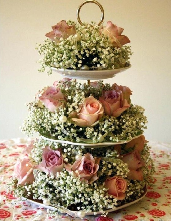 Cupcake Stand table decoration ideas