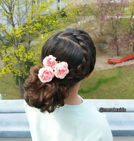 Fantastic Braided Bun -juda hairstyle