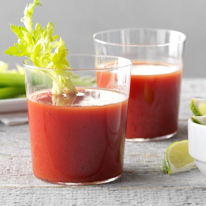 Tomato-Lime Sipper soft drink