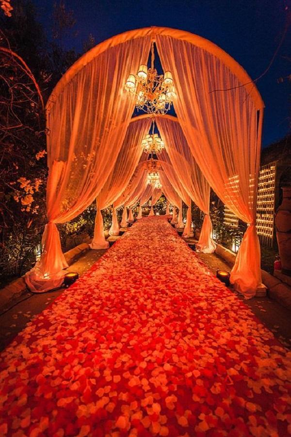 vibrant entrance
