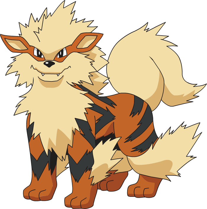 Arcanine as bride's father
