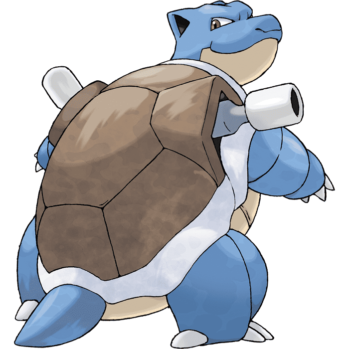 Blastoise As The Responsible Mamaji