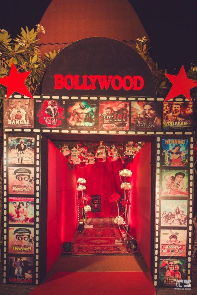 Bollywood theme wedding ieas