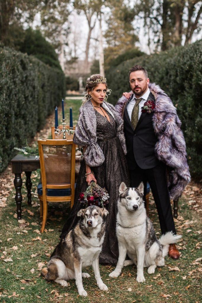 Game Of Thrones theme wedding ideas