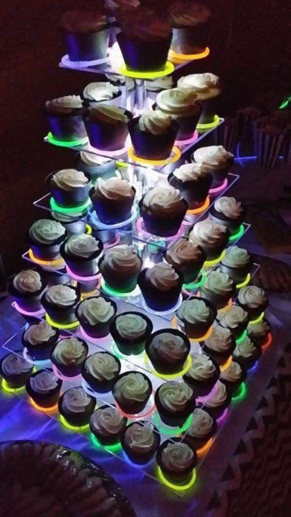 Glow In The Dark theme wedding