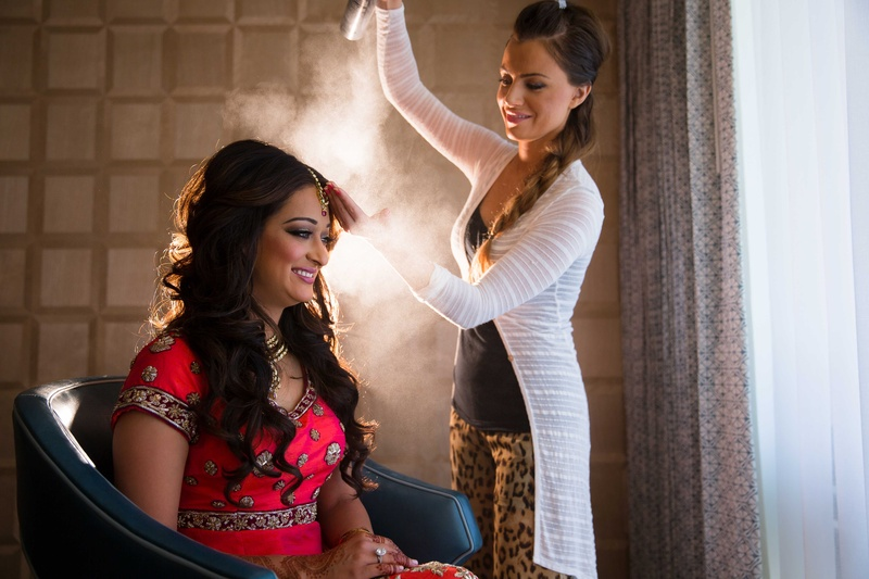 Hairstylist - indian bridal makeup