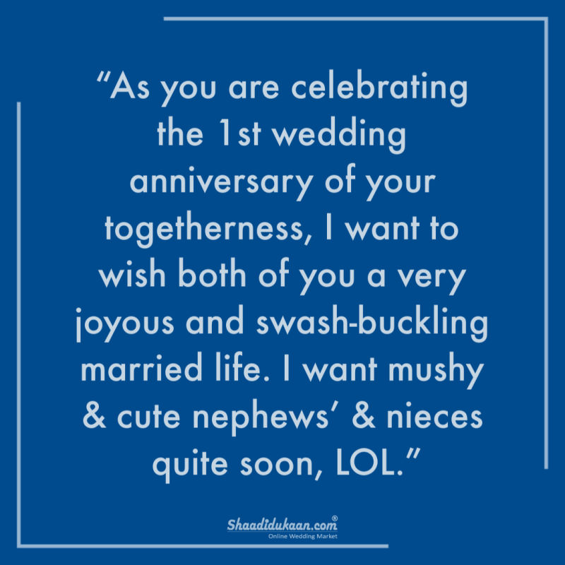 30 Heart Touching Wedding Anniversary Wishes For Sister Brother