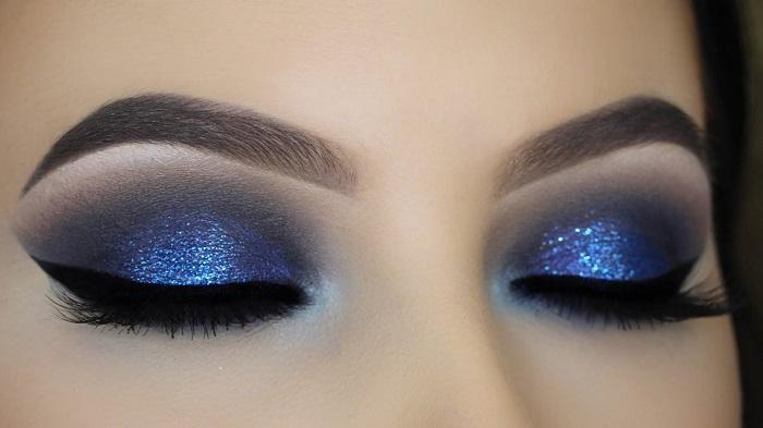 blue black smokey