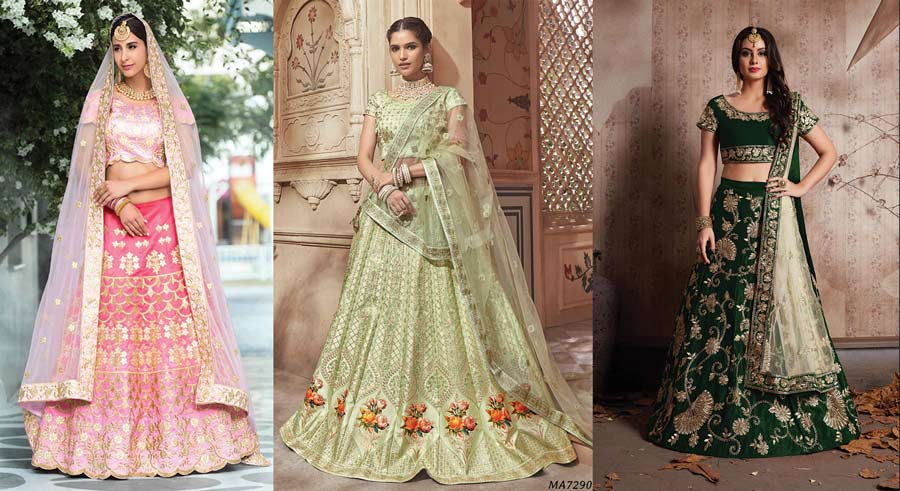 20 Blingy Gota Patti Lehenga Ideas To Sparkle Your Bridal Look