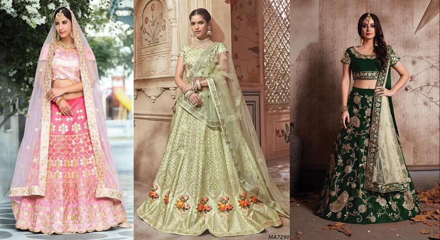 20 Blingy Gota Patti Lehenga Ideas To Sparkle Your Bridal Look