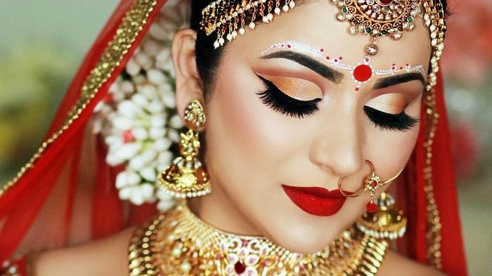 chnadan bindi bengali make up