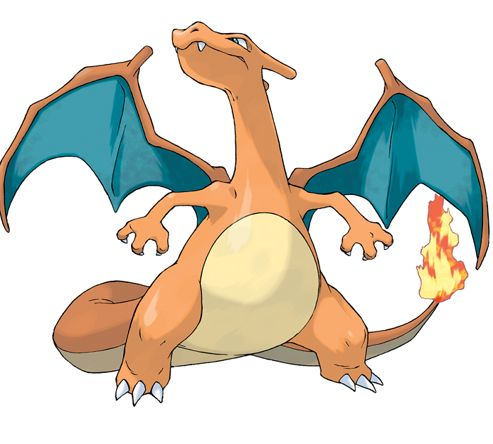 Charizard As The Gusse Wale Phupaji