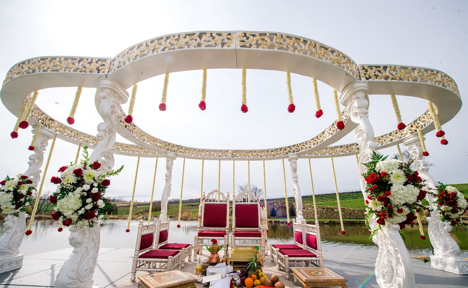 Daytime Wedding Decoration Ideas | From Venue Entrance to Stage ...