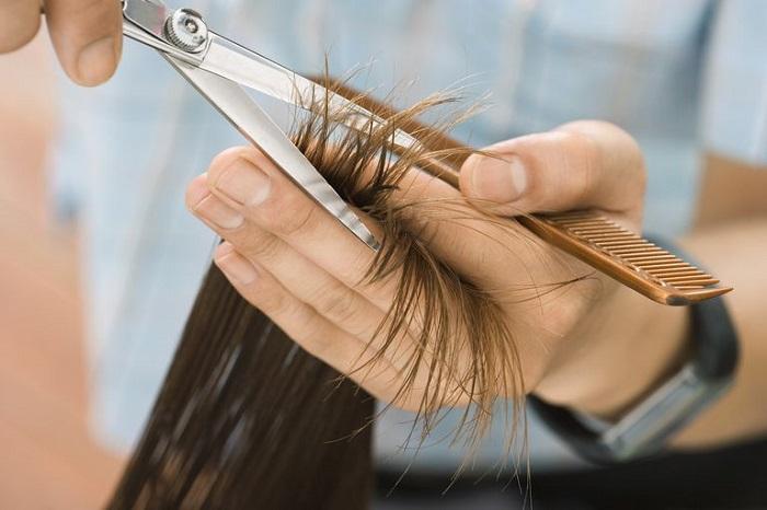 regular hair cut