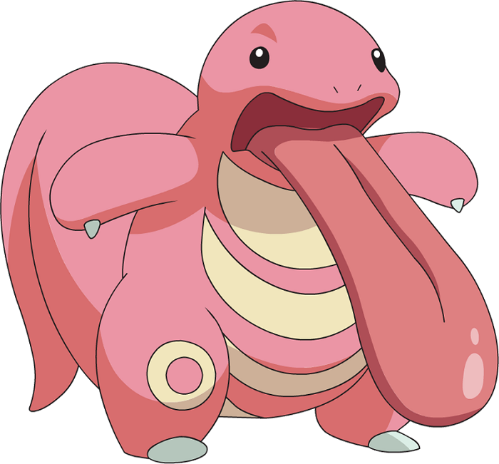 Lickitung As The Chipku Guest
