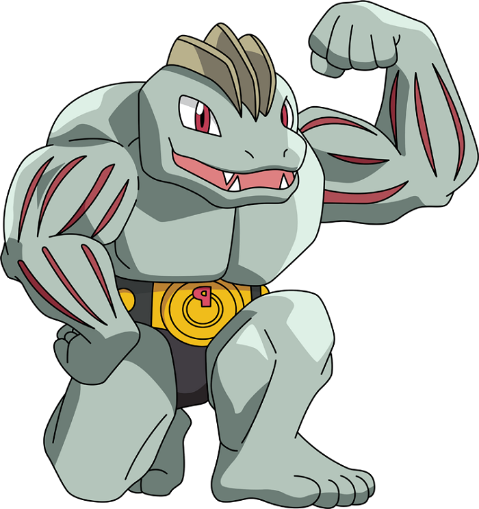 Machoke As The Groom's Buddies