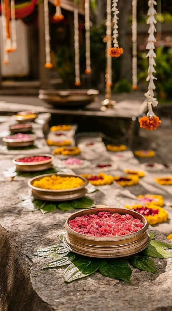 indian daytime wedding decoration ideas