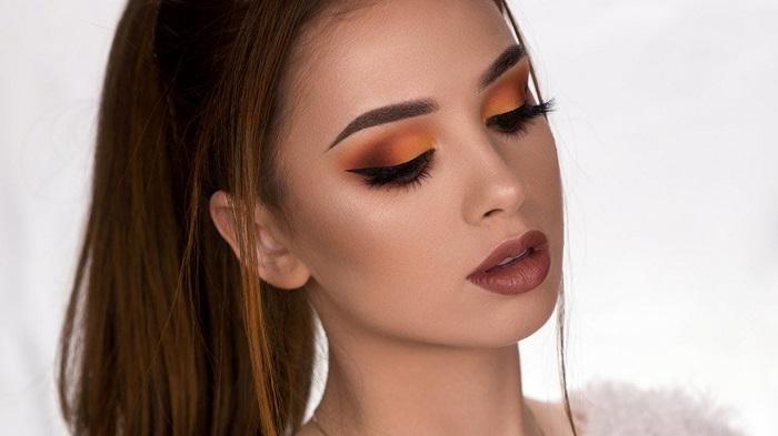 orange brown smokey