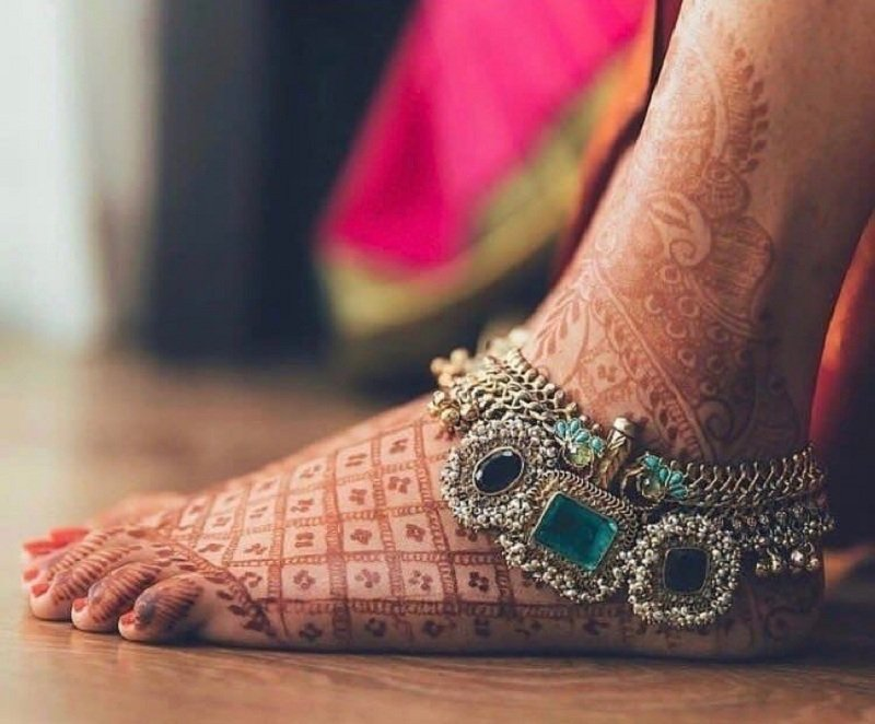 Anklets or Payal