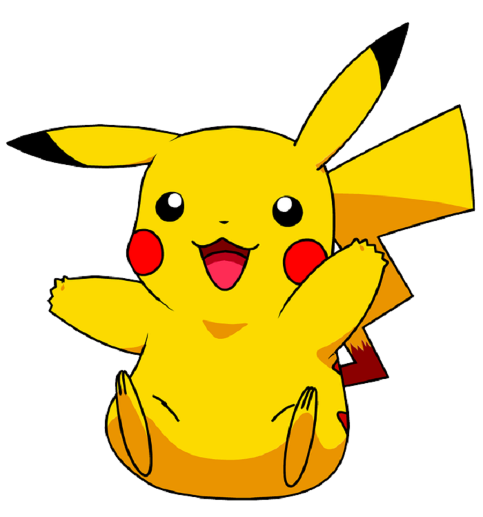 Pikachu As The Cute Naughty Kid