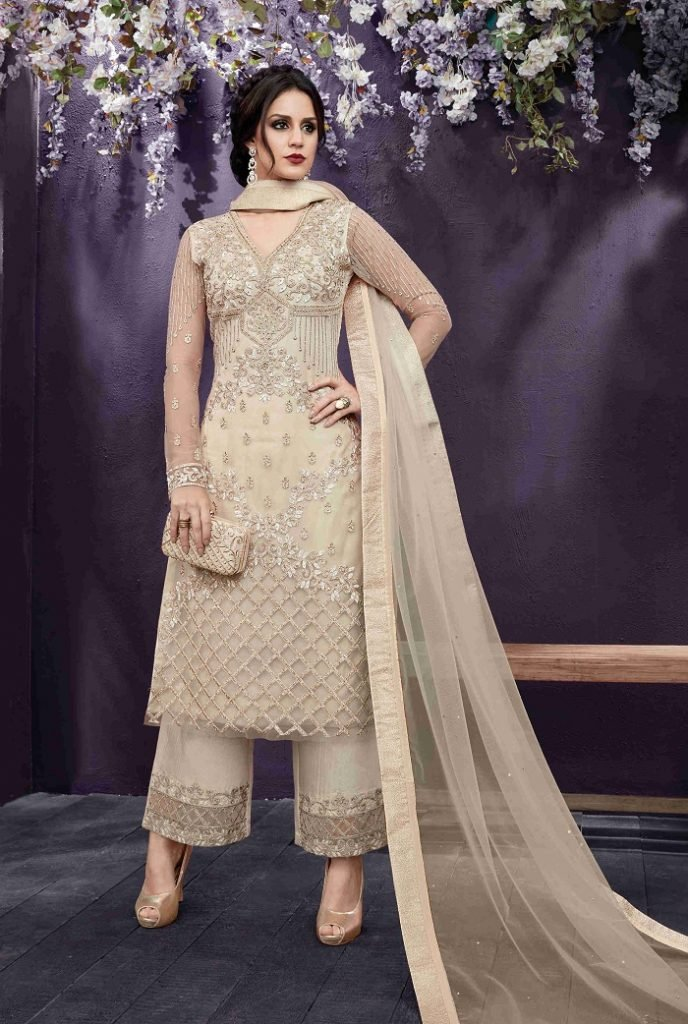 palazzo suit for bride