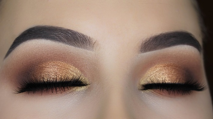 soft brown eyes makeup