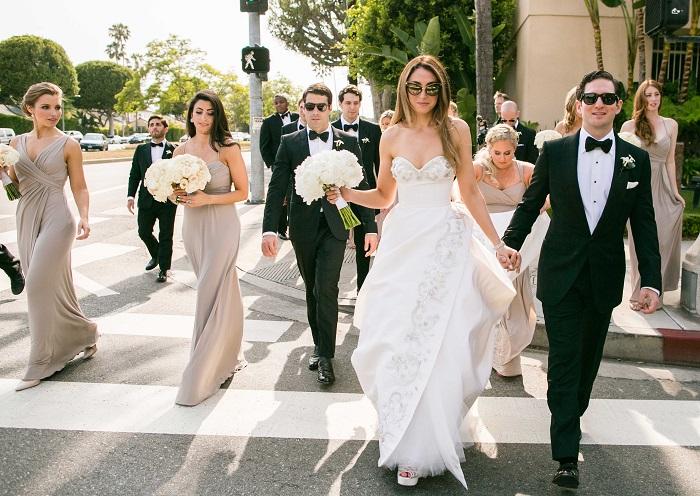 bridesmen and groomsmaid