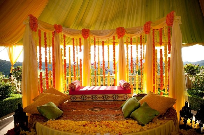 haldi ceremony decor ideas
