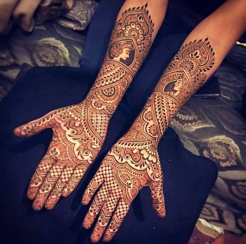 Let the Mehendi Dry for a Long Time