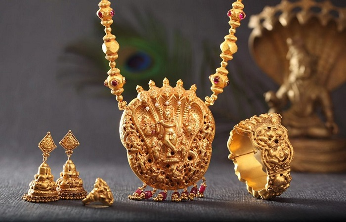 temple jewelry for wedding
