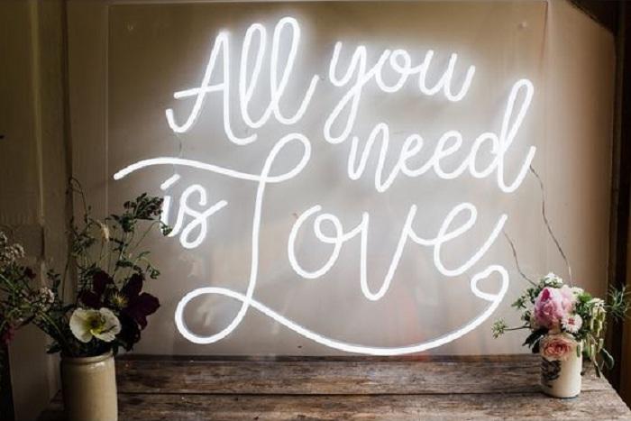 LED Signages Wedding Décor Ideas