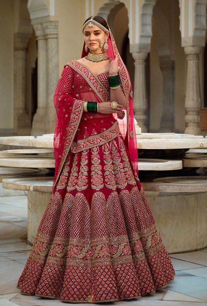 bridal lehenga trend