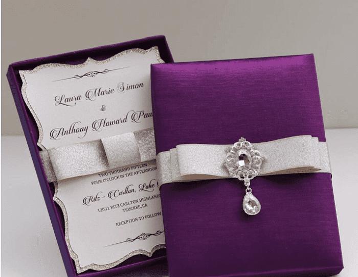 wedding card samples