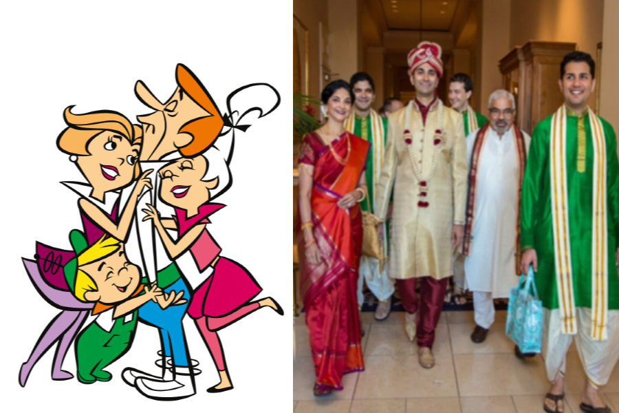 Jetsons As The Groom's Family