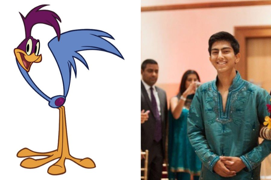 Road Runner As The Bride's Brother