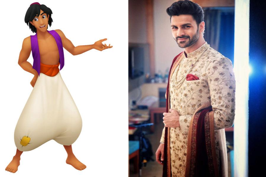 Aladdin As The Dashing Groom