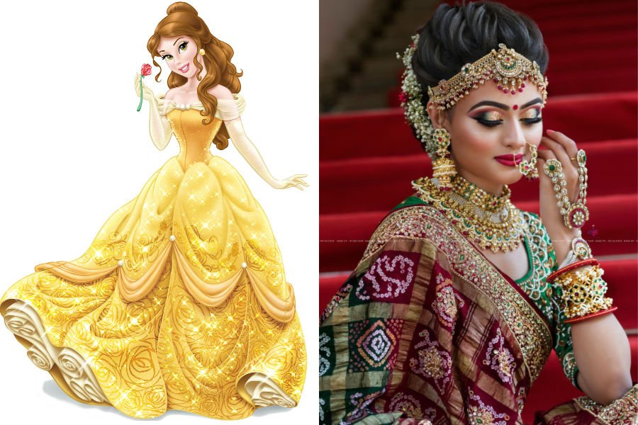 Belle As The Beautiful Dulhan