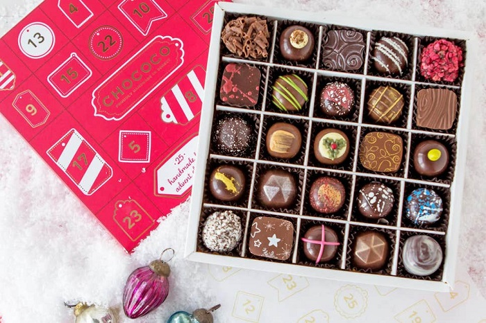 chocolate love proposal