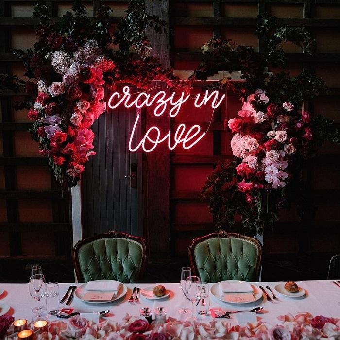 led decor ideas for wedding