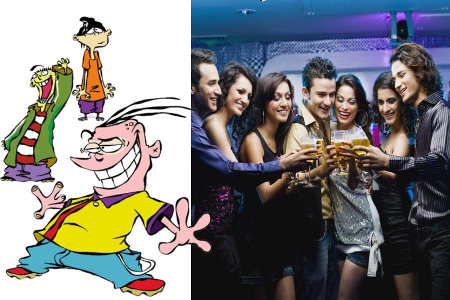 Ed, Edd, Eddy As The Talkative Drunkard Gang