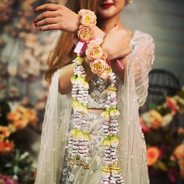 bridal floral kalire