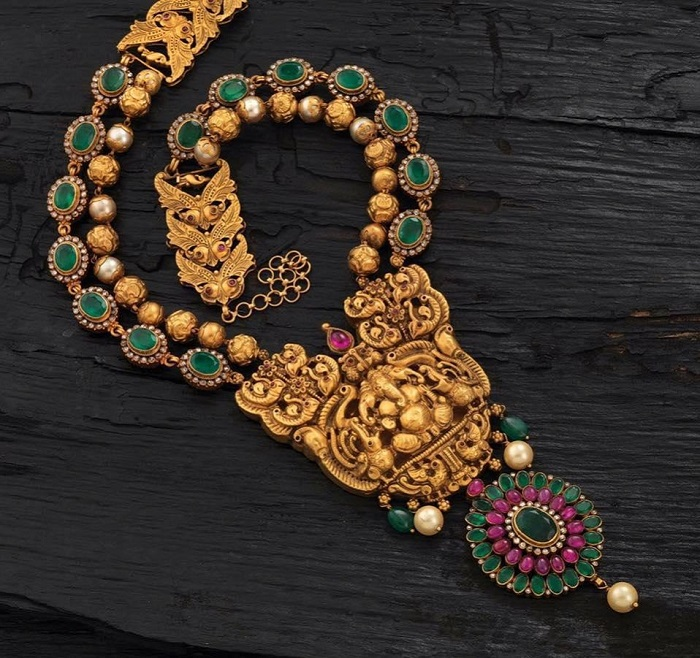 bridal temple jewellery