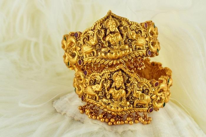 temple bridal jewelry ganesha