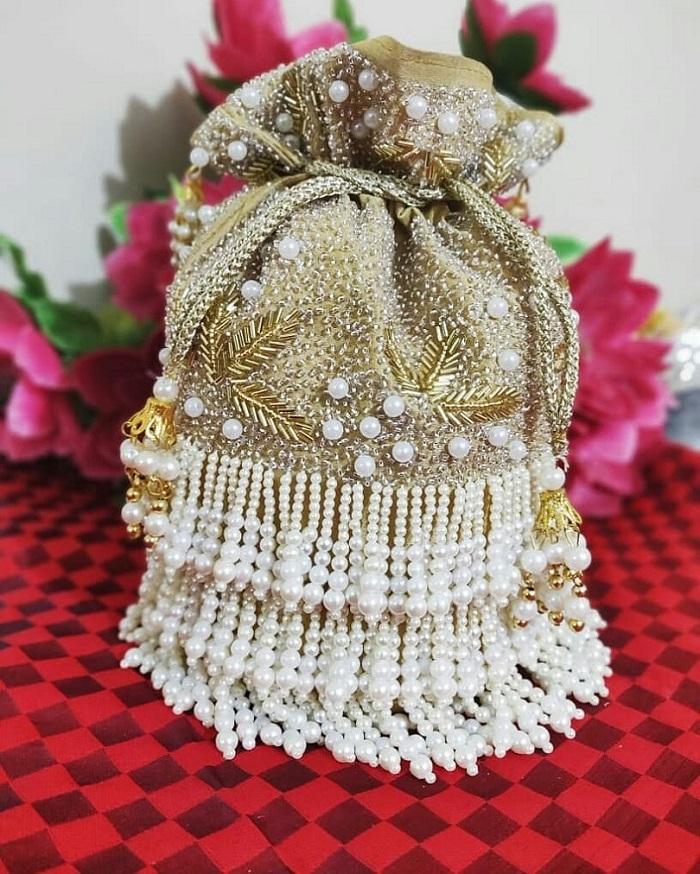 potli purse designs for bride
