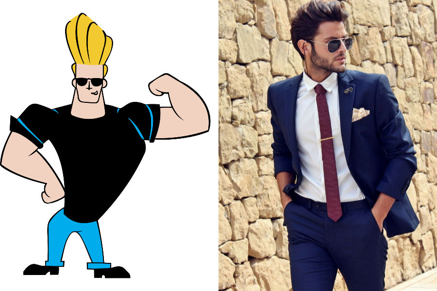 Johnny Bravo As The Handsome Hunk, Dulha's Friend