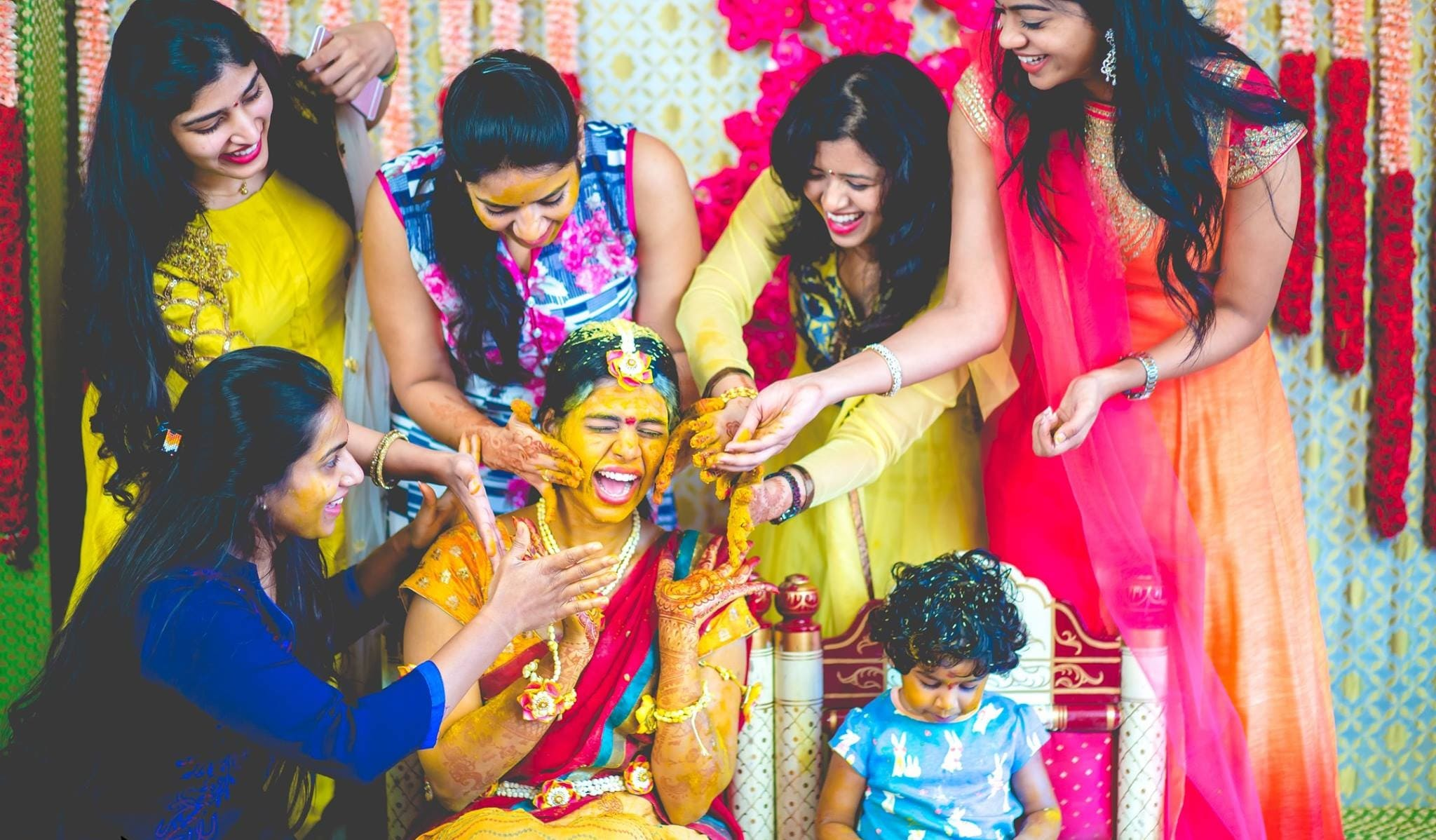 Simplistically Drooling Haldi Ceremony Décor Ideas