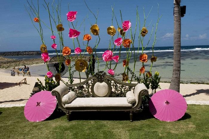 serene mehandi decoration ideas